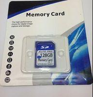 NUEVO 128 GB 64GB SDHC Elite Pro TARJETA DE MEMORIA FLASH DE ALTA VELOCIDAD DE LA PELÍCULA DE ALMACENAMIENTO 3.3V HD 128 g 64 g 10 Tarjeta SDXC SDHC Clase