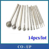 Wholesale Common Sizes mm mm Spherical Head Diamond Mounted Points Grinding Burs
