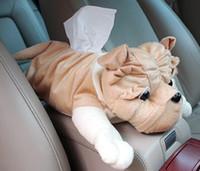 Wholesale PB002 cartoon car tissue box holder car tissue holder tissue holder for car