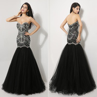 ssj In Stock XU009 Long 2014 Celebrity Ball Gowns Party Merm...