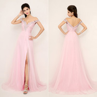 ssj Off Shoulder In Stock XU013 Long 2014 Celebrity Hot Pink...