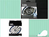 Wholesale 2 NZXT MM MM Computer Air Flow LED Case Fan Blade Fan mm mm mm MM MM MM