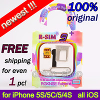 Wholesale newest R SIM plus rsim TOP NEW R SIM extreme UNLOCK all carrier IOS with original tray card slot for iphone S C S