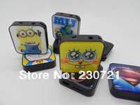 Wholesale Cheap mini mp3 player Box mp3 card reader function support micro sd card earphone usb