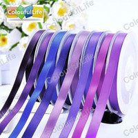 Cheap Ribbon wedding Best Satin Purple satin ribbon