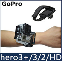 Hand Straps bands canvas bag - High Quality Shell Wrist Band Arm Shell Strap Waterproof Gopro for Go Pro hero3 HD Accessories hight quality