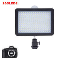 Wholesale New WanSen W160 LED Video Camera Light Lamp DV For CANON for NIKON JVC V W Drop Shipping