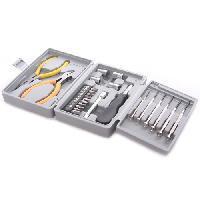 Wholesale New Stainless steel Multifunctional Combined Repair Pliers Tweezers Tool Box Set