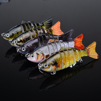Wholesale 5pc New Proberos Sections Fishing Lure cm quot oz g Swimbait Fishing bait Good Quality Hook Fishing Tackle