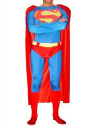 Superman spandex tights package with RPG masquerade Halloween props performance clothing
