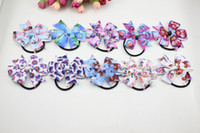 Wholesale 2014 children elastic head Frozen kids accessories fashion baby girls elastic band hair band bow and ring style