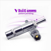Cheap New Arrival Vhit Reload Atomizer Glass Tank Dry Herb Wax Clearomizer for Ego Batteries Match 510 and EGO threading Electronic Cigarette