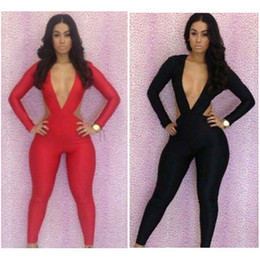 Wholesale 2014 new Fashion women clubwear pant evening pants lady party dress backless hot sale sexy jumpsuit bodycon jumpsuits