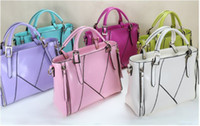 Wholesale 2014 beautiful colors handbag fashion bag totes from fingdingme