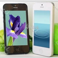 mobile phone tv mobile phone - WIFI TV Cell phone i5S I5 Inch touch screen Unlock mobile phone quad band dual sim card