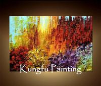 Cheap One Panel handmade oil painting Best Oil Painting Abstract abstract oil painting