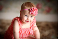 Hair Sticks Lace Character 20pcs lot Baby Lotus Flower Headband Infant Toddler Girl Hairband With Rhinestones Kids Crystal Hair Accessories