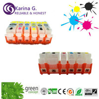 Wholesale 5x empty chipped Refill ink cartridges for caonon PGI CLI for Canon PIXMA IP7260 MG5460 NX926 MX726