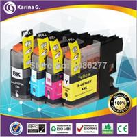 Wholesale 4PK Compatible Inkjet Cartridges For LC105 LC107XL For Brother Printer MFC J4610DW J4510DW J4410DW