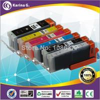 Wholesale 6PK For PGI250Bk BK amp CLI251CMY amp GY Compatible Ink Cartridges Used ForPIXMA MG5420 MG6320 MG6320 White MX722 MX922 iP7220