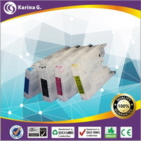 Wholesale Refillable ink cartridge For Brother MFC J2510 J4210N J4510N J4110DW printer For LC123 LC125 LC127 LC103
