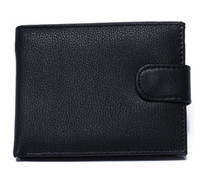 Wallets american trading - Business fashion license men Genuine leather wallet short fold Credit card bit foreign trade casual versatile purse wallets