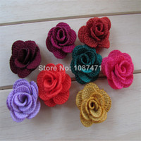 Fingerless Gloves Headwear Yes Rose mix 30mm color Cute DIY cell phone decor hair bow and flower centers, embellishment clothing accessories