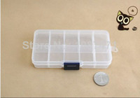 Wholesale 5 mixed size Details about Slots Compartments Adjustable Plastic Beads Jewellery Organizer Storage Box