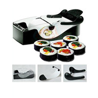 Stainless Steel Sushi Tools Yes Perfect DIY Roller Machine Roll Sushi Maker Easy Kitchen Magic Gadget Cooking Tools Curtain Bento Acessorios De Cozinha Rolls