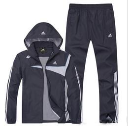 Wholesale Hot Sale Men s Long sleeve Sport suit Casual clothes jacket Pants Leisure suits Tracksuit