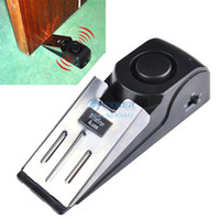 Wholesale dB Security Home Wedge Shaped Door Stop Alarm Block Systerm Gate Resistance SV001210