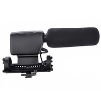 Wholesale Professional Stereo Video Condenser DV Camera Microphone NA Q7 for Canon Nikon Sony Fuji Panasonic DSLR DV Handycam Camcorder