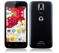 Wholesale Newest Catee CT100 MTK6572 dual core Android mobile Phone quot capacitive screen G WCDMA GSM bluetooth ZE