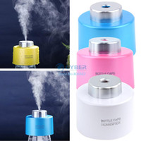 Wholesale Promotion Portable USB Water Bottle Caps Humidifier for home Humidifier Aroma Air Diffuser Mist Steam Maker b7 SV004733