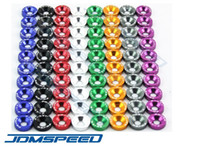 Wholesale JDMSpeed Aluminum10 set Password JDM Fender Washers For Honda Civic Integra RSX EK