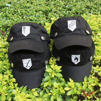 Wholesale Japanese anime Advancing Titans Investigation Corps Mikasa CAP anime attack on Titans hat EMS