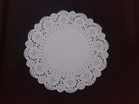 Wholesale Paper Mats Pads Table Decoration Accessories Diameter inches Round Shape Ivory Color Eco friendly Paper Doily New Arrivals