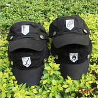 Wholesale Japanese anime Advancing Titans Investigation Corps Mikasa CAP anime attack on Titans hat retail