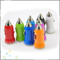 Wholesale Best Mini Car Charger MAH DHL USB Mini Car Charger for all Smart Phones Iphone s s MP3 MP4 high quality