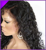 Wholesale Beauty Glueless Full lace wigs Brazilian human hair with baby hair around A Virgin Remy Hair