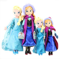 dolls 50cm 40cm elsa anna toy doll action figures plush toys