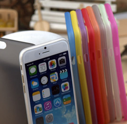 Wholesale 0 mm Ultra Thin Slim Matte Frosted Clear Transparent Flexible Soft PP Cover Case Skin For iPhone Plus S inch S S