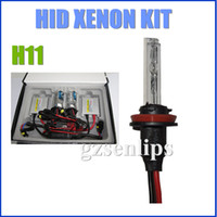 Wholesale 50SET V W Single Beam HID Xenon Kit H11 AC HID Silm ballast Auto XENON HID Conversion Kit High Quality set