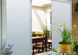 Wholesale Fashion DIY Frosted Glass Privacy Window Film sliding door glass sticker Wall Art Decal Window Stickers cmx50cm