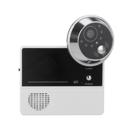 Wholesale 2 quot TFT Electronic Digital Peephole Viewer Doorbell Security Camera Monitoring System Night Vision H9841