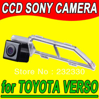 Parking Assistance Yes Navinio For Sony CCD TOYOTA VERSO Car Rear View Back Up Reverseing Parking Autoradio HD Security Camera Kit System for GPS Navigation+ car styling