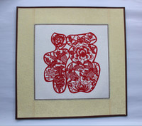 Wholesale ChineseTraditional Art picture Paper Cutting folk arts and crafts for window or Home decoration handicraft handmade