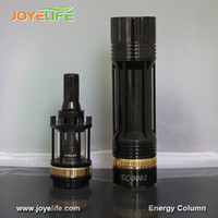 Single Black Metal Energy column kit 2014 26650 mechanical mod e cigarette mod and atomizer cigar vaporizer electric