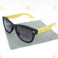 Wholesale Retro Wood Sunglasses Designer UV400 Wooden Handmade Banboo Eyeglasses Women Men vintage Eyewear Fashion Sun Glasses New Colors