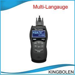 Wholesale 2014 multi language VGATE Maxiscan VS890 OBDII OBD2 EOBD Code Reader Scanner Maxiscan VS